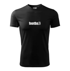 Futbal nápis - Detské tričko fantasy športové tričko