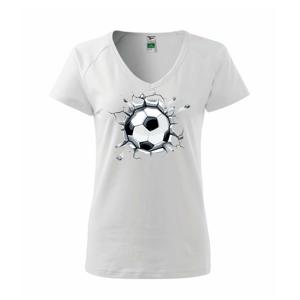 Futbalová lopta v triku - Tričko dámske Dream
