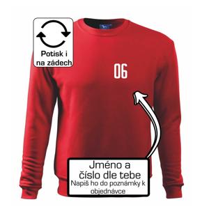 Futbalový dres - vlastné meno a číslo - Mikina Essential pánska