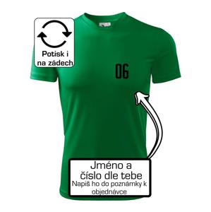 Futbalový dres - vlastné meno a číslo - Pánske tričko Fantasy športové
