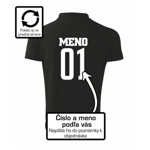 Futbalový dres - vlastné meno a číslo - Polokošeľa pánska Pique Polo 203