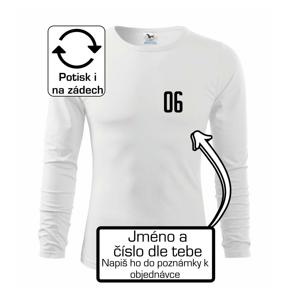 Futbalový dres - vlastné meno a číslo - Tričko detské Long Sleeve