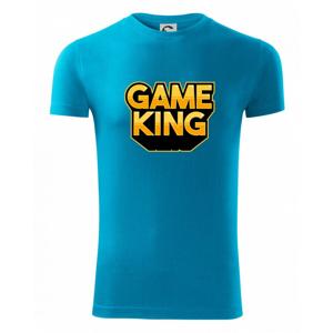 Game king - nápis veľký - Viper FIT pánske tričko