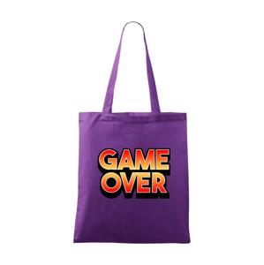 Game over - nápis farebný - Taška malá