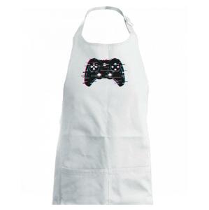 Gamer - gamepad barevný - Detská zástera na varenie