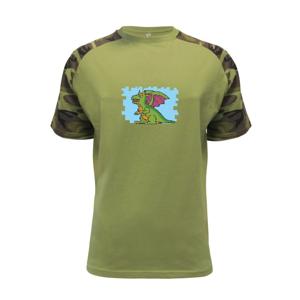 Gamer - stará hra - drak - Raglan Military