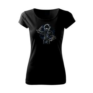 Gas Mask Scissors - Pure dámske tričko