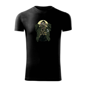 Gasmask Gangsta - Viper FIT pánske tričko