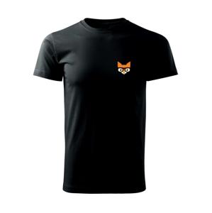 Geek líška - Tričko Basic Extra veľké