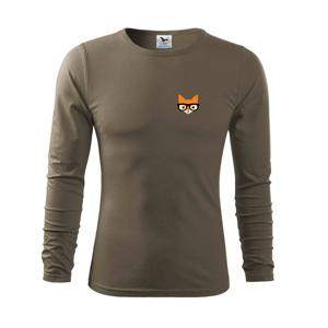 Geek líška - Tričko s dlhým rukávom FIT-T long sleeve