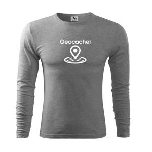 Geocacher maps - Tričko s dlhým rukávom FIT-T long sleeve