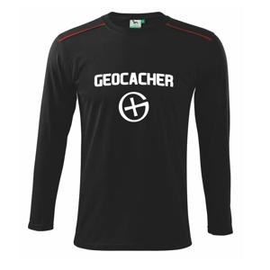 Geocacher point - Tričko s dlhým rukávom Long Sleeve