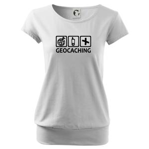 Geocaching ikony - Voľné tričko city