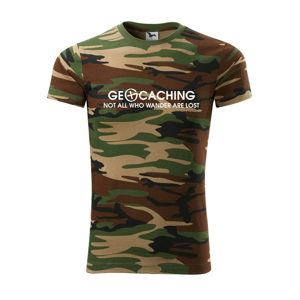 Geocaching lost - Army CAMOUFLAGE