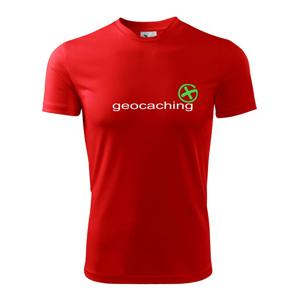 Geocaching nápis - Detské tričko fantasy športové tričko