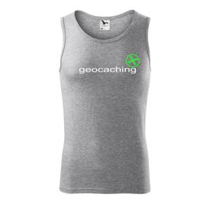 Geocaching nápis - Tielko pánske Core