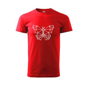 Geometria - motýľ - Tričko Basic Extra veľké