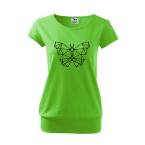 Geometria - motýľ - Voľné tričko city