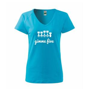 Gimme five - daj mi päť - päťvalec - Tričko dámske Dream