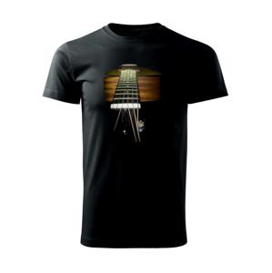 Gitara foto - Heavy new - tričko pánske