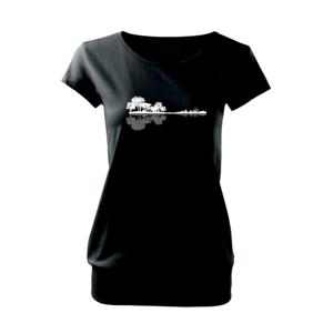 Gitara príroda - Voľné tričko city