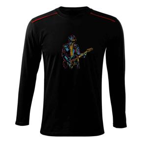 Gitarista splash - Tričko s dlhým rukávom Long Sleeve