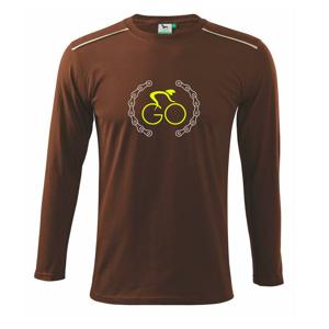 GO cyklista - Tričko s dlhým rukávom Long Sleeve
