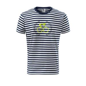 GO cyklista - Unisex tričko na vodu