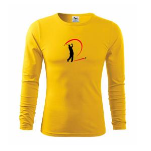 Golfistov odpal - Tričko s dlhým rukávom FIT-T long sleeve