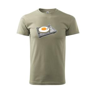 Gramofón vajcia - Tričko Basic Extra veľké