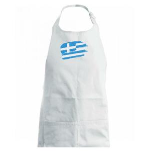 Grécko vlajka - Detská zástera na varenie