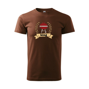Guľatý gril King - Heavy new - tričko pánske