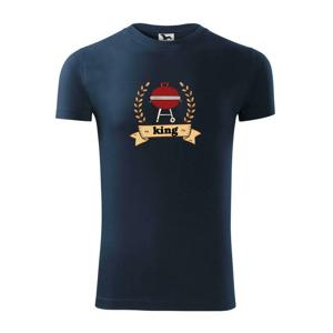 Guľatý gril King - Viper FIT pánske tričko