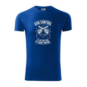 Gun Control - Viper FIT pánske tričko