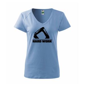 Hard Work lyžice - Tričko dámske Dream