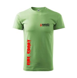 Hasiči (oheň,  Firesport, názov zboru - vlastný nápis) - Heavy new - tričko pánske