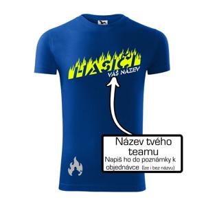 Hasiči - oheň - Váš názov - Viper FIT pánske tričko