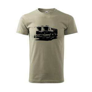 Hasičské auto americkej - Tričko Basic Extra veľké
