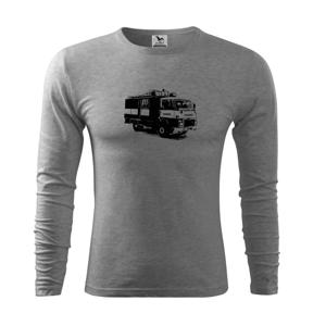 Hasičské auto Hasiči - Tričko s dlhým rukávom FIT-T long sleeve