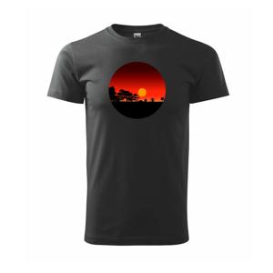 Hawai západ slnka - Tričko Basic Extra veľké