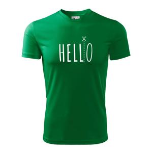 Hello - Pánske tričko Fantasy športové