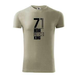 Hero, Legend, King x Queen 1971 - Viper FIT pánske tričko
