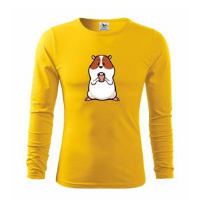 Hladný škrečok - Tričko s dlhým rukávom FIT-T long sleeve