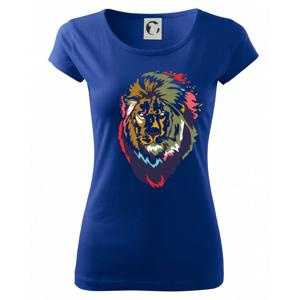 Hlava leva kreslená jednoduchá - Pure dámske tričko