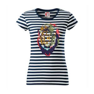 Hlava leva kreslená jednoduchá - Sailor dámske tričko