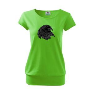 Hlava vrany - Voľné tričko city