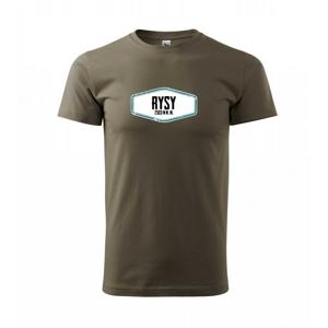 Hora Rysy - Tričko Basic Extra veľké