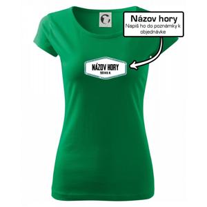 Hora - vlastný názov - Pure dámske tričko