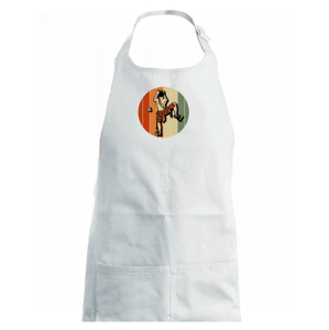 Horolezec farebný - Detská zástera na varenie