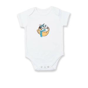Hrnček plný vyletovanie - Dojčenské body